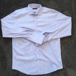 Ralph Lauren Black French Cuff Shirt Sz 16.5